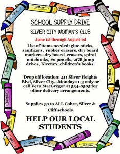 School Supply Drive 072315