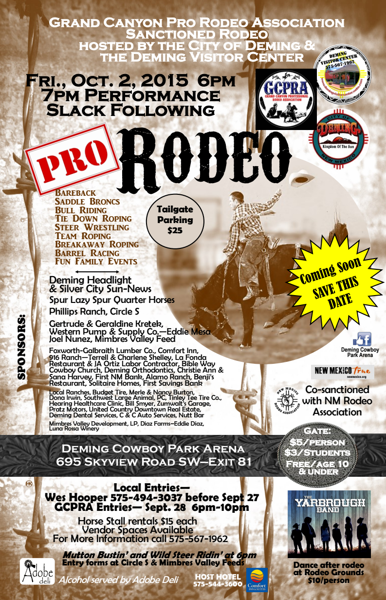 deming rodeo