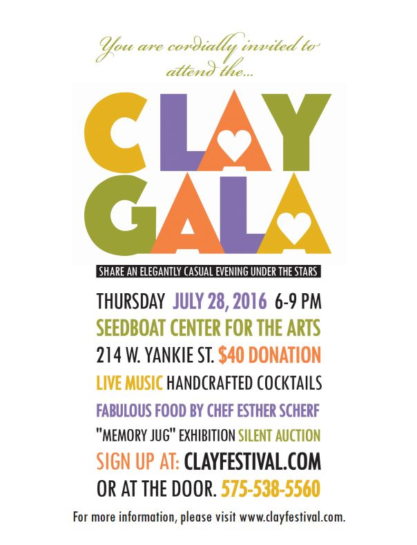 Clay Gala Poster