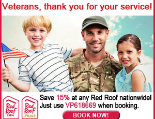 Red Roof Offers a Special Thanks for Veterans