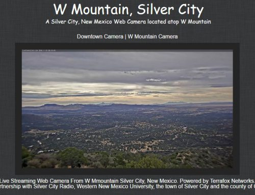 LivefromSilver.com W Mountain Camera is Live!