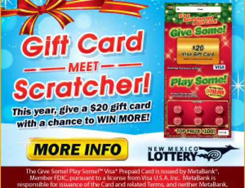 Give Some, Play Some with New Mexico Lottery Scratchers