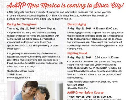 AARP New Mexico Events in Silver City This Week