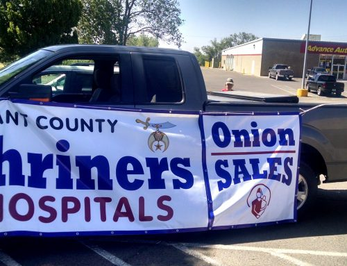 Shriner's Hospital Sweet Onion Sale to be held Saturday, June 3rd, 2017