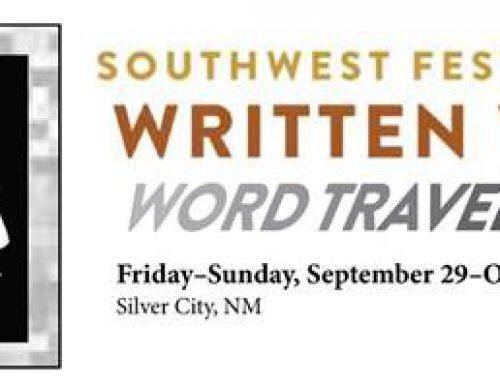 Southwest Festival of the Written Word: September 29 to October 1, 2017