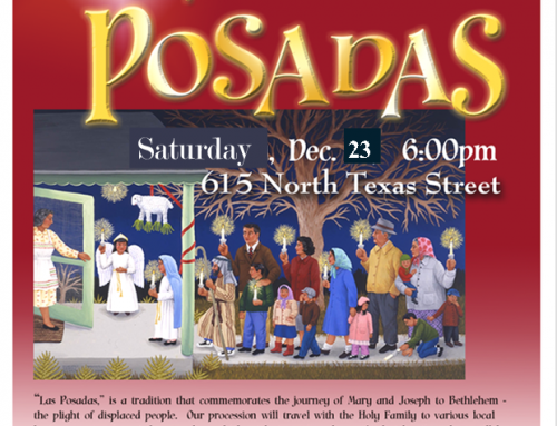 Las Posadas Celebration: December 23rd at 6:00 p.m.