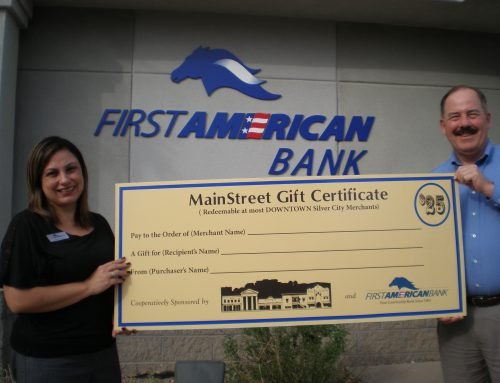 Silver City MainStreet Gift Certificates