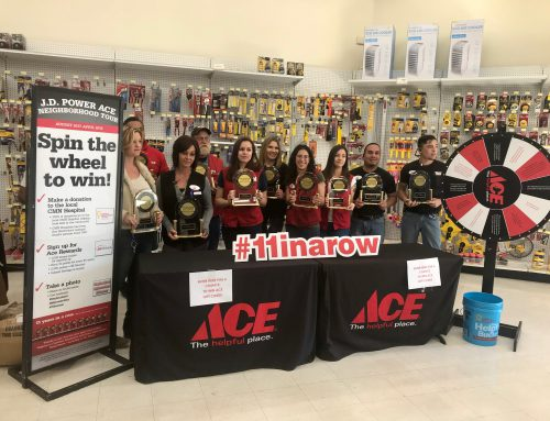 Mountain Ridge Ace Hardware Awarded by J.D. Power