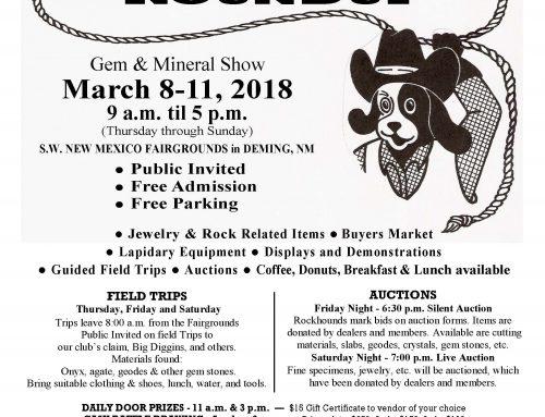 Rockhound Roundup: Deming Annual Gem & Mineral Show 2018