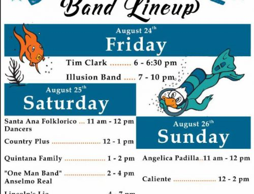 Great American Duck Race Band Schedule: August 24th-26th, 2018
