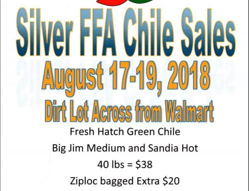 Sillver FFA Chile Sale