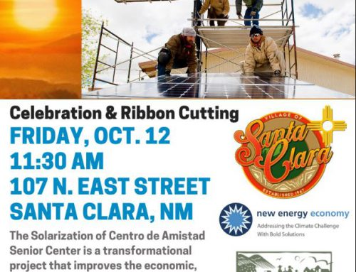 Centro de Amistad Solar Power Installation Celebration