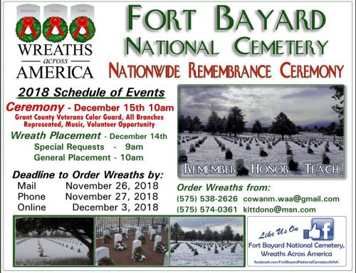 Wreaths Across America at Ft. Bayard National Cemetery