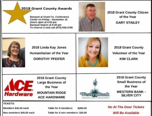 2018 Grant County Award Recipients