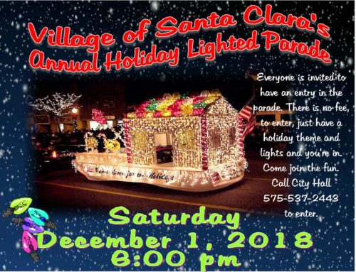 Village of Santa Clara's Annual Christmas Lighted Parade