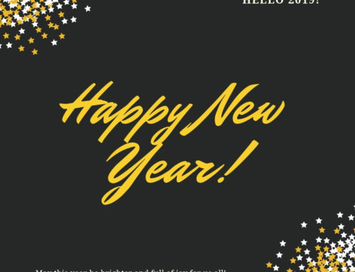 January 1st, 2019: Happy New Year!