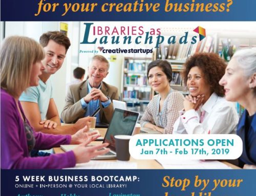 Libraries as Launchpads Creative Startups
