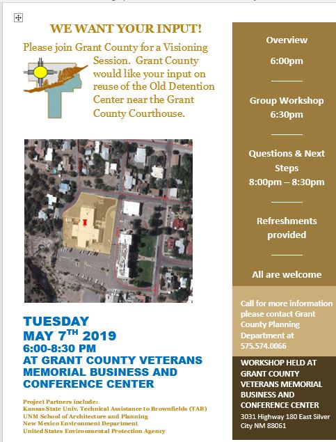 Grant County Workshop and Public Input Session
