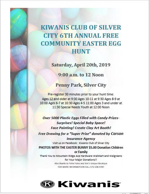 6th Annual Kiwanis Free Community Easter Egg Hunt