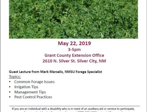 Grant County Alfalfa & Forage Production Workshop