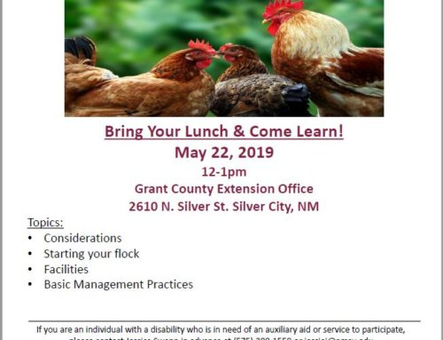 Grant County Poultry Flock Management Workshop