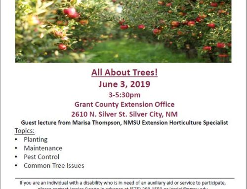 Grant County Gardening Workshop: All About Trees
