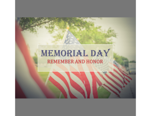 May 27th, 2019: Memorial Day