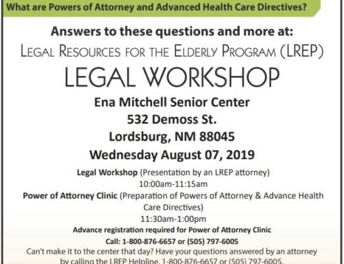 Hidalgo Medical Services Hosts LREP Free Legal Workshop in Lordsburg