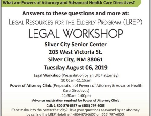 Hidalgo Medical Services Hosts LREP Free Legal Workshop Silver City