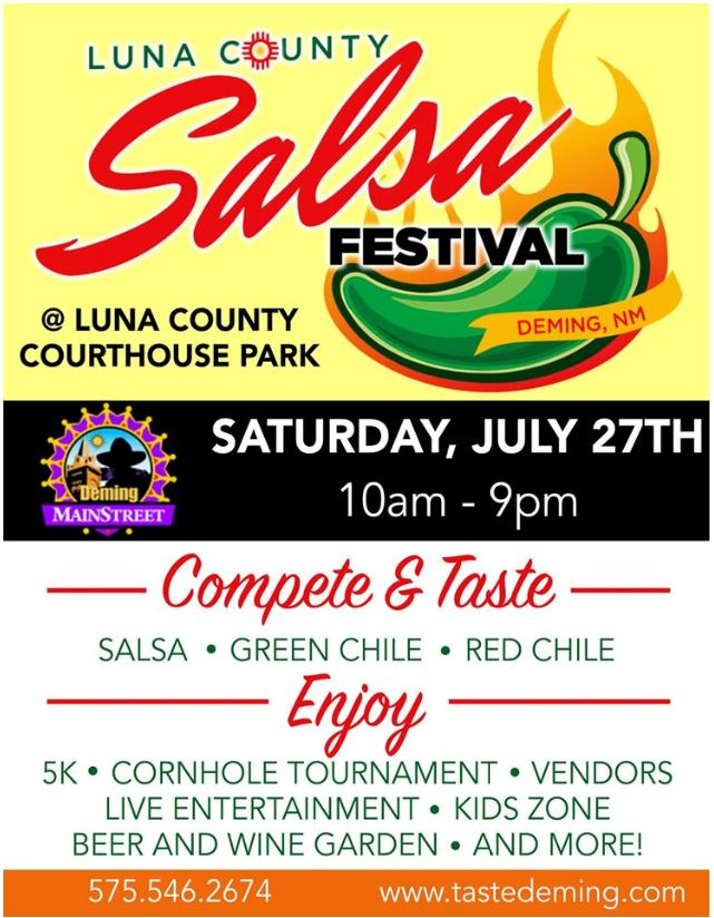 4th Annual Mainstreet Luna County Salsa Festival