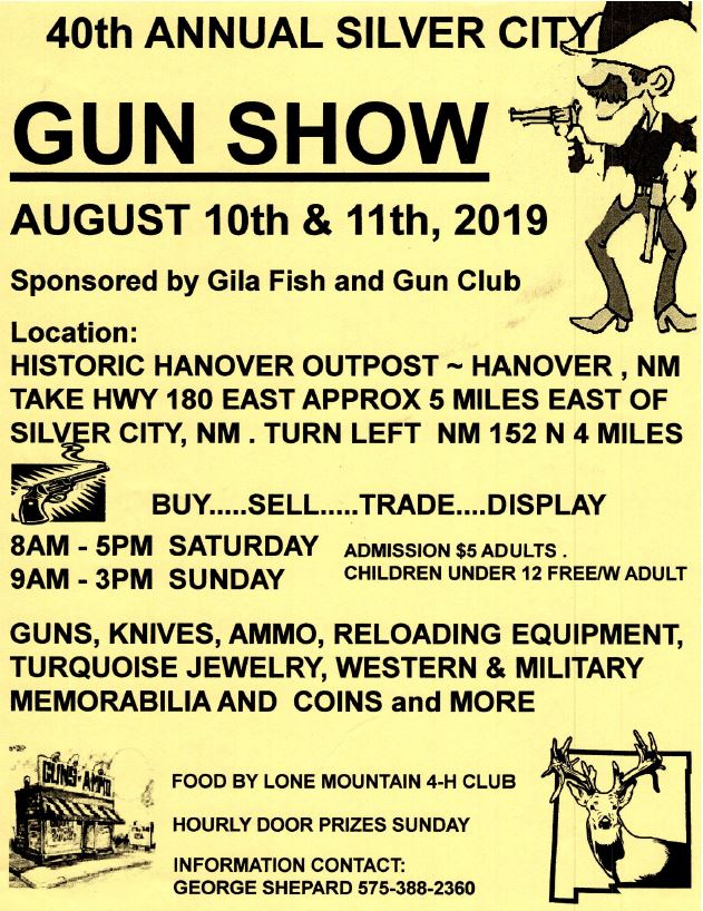40th Annual Silver City Gun Show