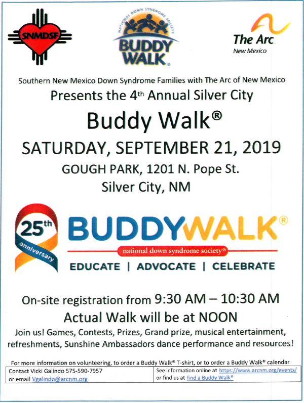 4th Annual Silver City Buddy Walk