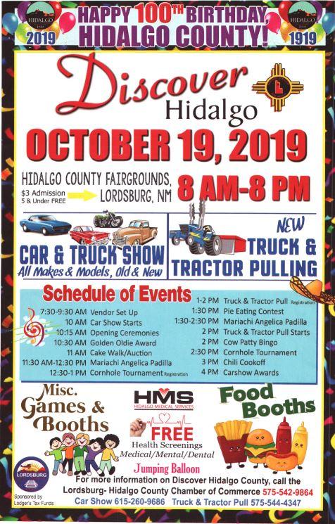 Discover Hidalgo 2019: Celebrate the 100th Birthday of Hidalgo County!