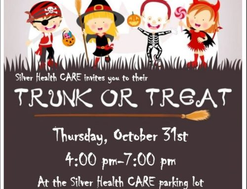 Silver Health Care Trunk or Treat