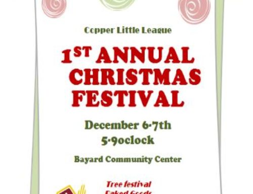 Copper Little League 1st Annual Christmas Festival