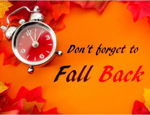 Daylight Saving Time Ends This Sunday November 3rd at 2:00 A.M.