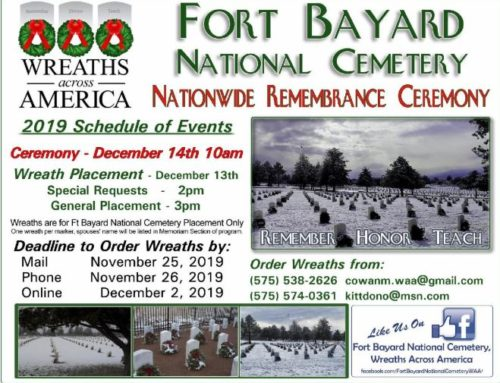 Fort Bayard National Cemetery Wreaths Across America