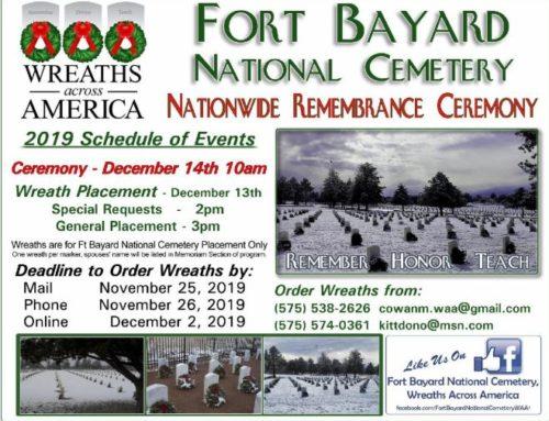 Fort Bayard National Cemetery Wreaths Across America