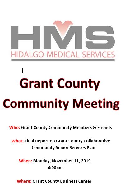 HMS Community Meeting for Senior Services