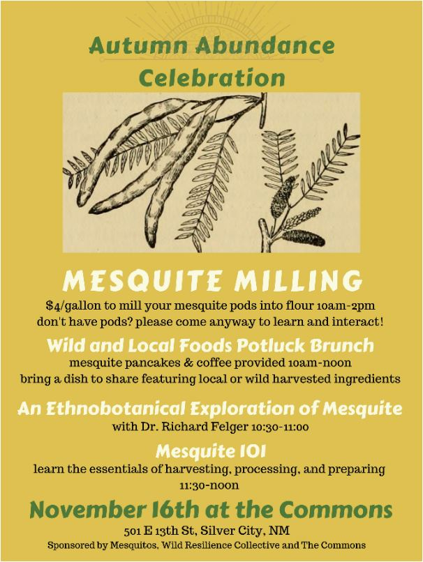 Local Mesquite Milling