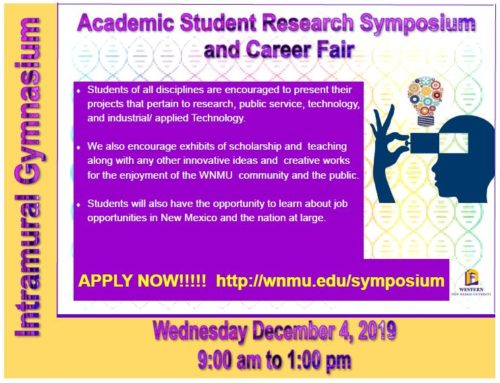 WNMU Academic Student Research Symposium/Career Fair