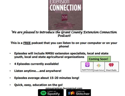 Grant County Extension Connection Free Podcasts
