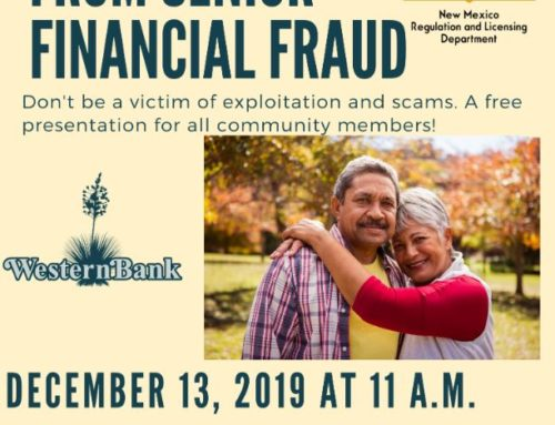 Senior Financial Fraud Presentation in Lordsburg