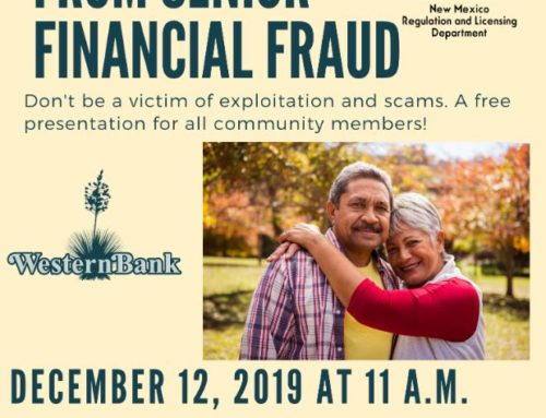 Senior Financial Fraud Presentation at HMS Santa Clara Senior Center