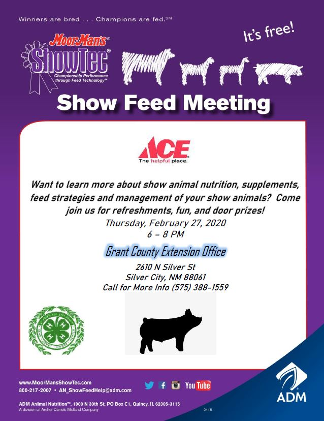 Free Show Feed Meeting