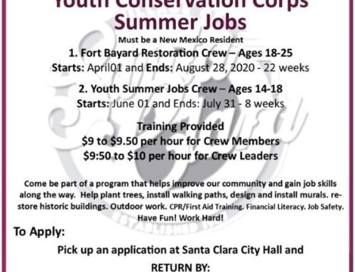 Youth Conservation Corps Summer Jobs