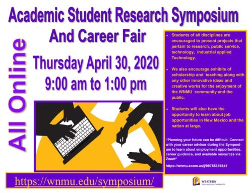WNMU Academic Student Research Symposium and Career Fair