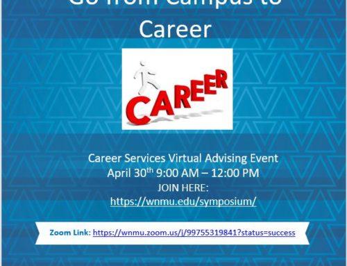 WNMU Virtual Advising Event Zoom Meeting