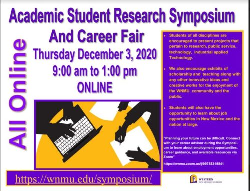 Virtual Academic Student Research Symposium and Job Fair