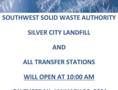 SWSWA Closures and Delayed Schedule